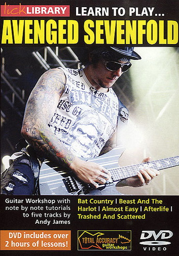 Copertina di Learn to Play Avenged Sevenfold, di Andy James