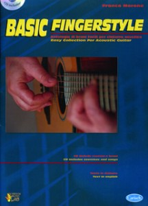 Copertina di Basic Fingerstyle, di Franco Morone