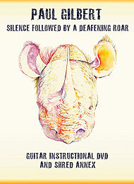 Copertina di Silence Followed by a Deafening Roar, di Paul Gilbert