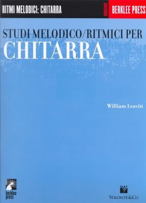 Copertina di Studi melodico/ritmici, di William Leavitt