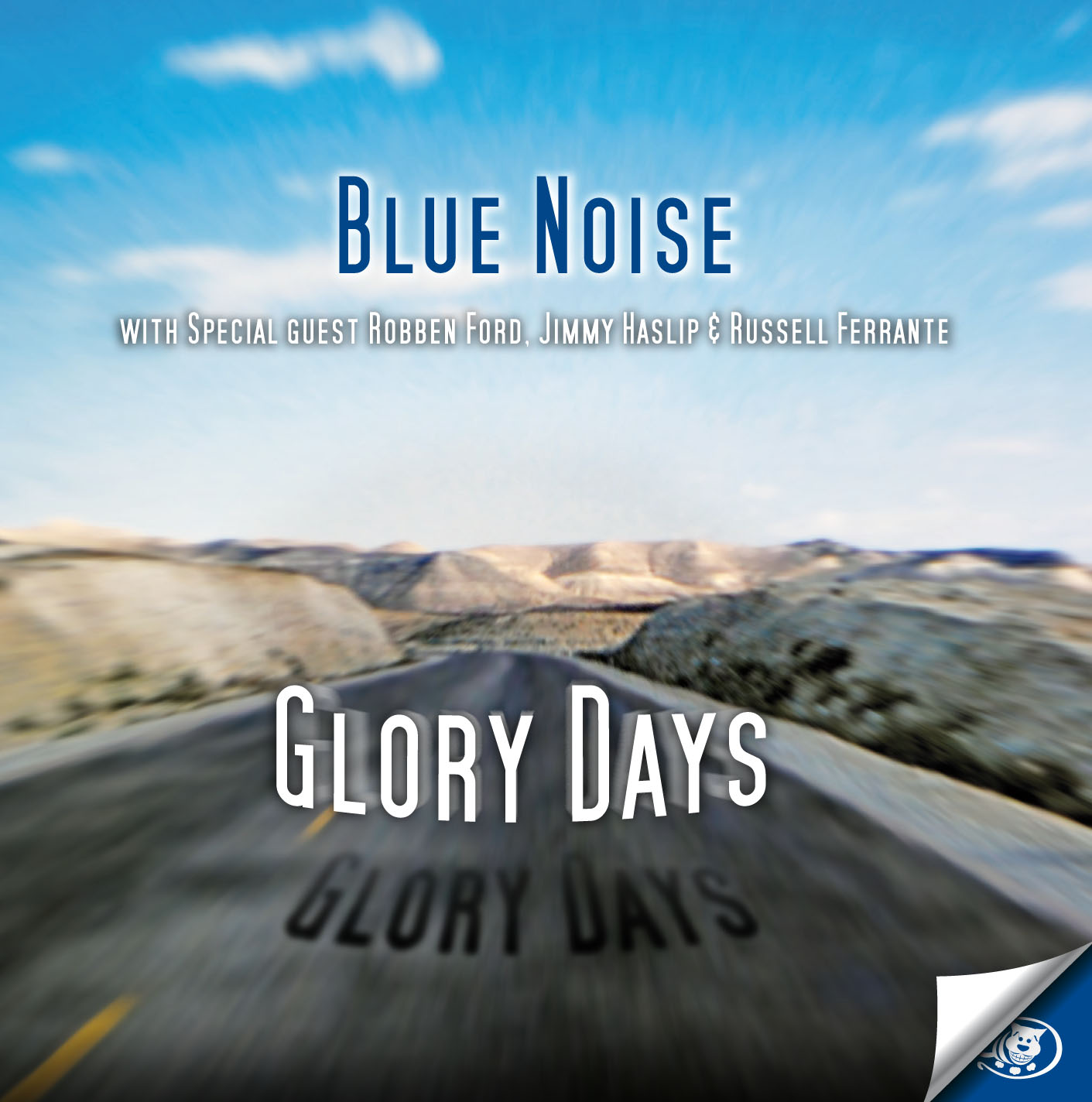 Cover di Glory Days, Blue Noise