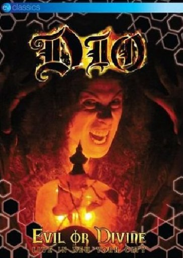 Cover di Evil Or Divine - Live In New York City, Ronnie James Dio