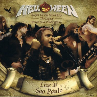 Cover di KEEPER OF THE SEVEN KEYS The Legacy World Tour 2005/2006 Live In Sao Paulo, Helloween