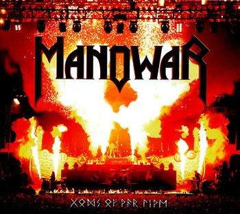 Cover di Gods Of War Live, Manowar