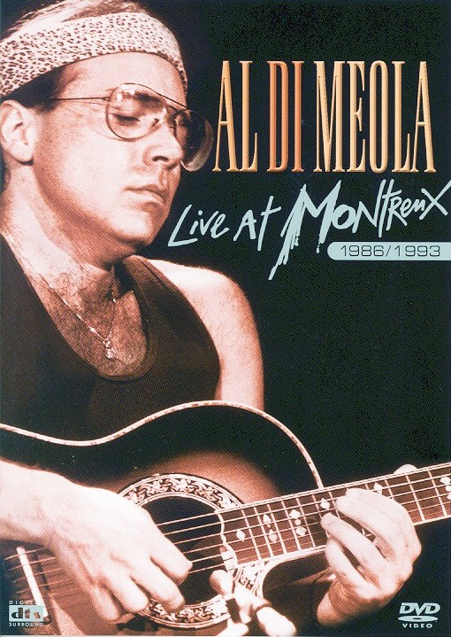 Cover di Live At Montreux 1986/1993, Al Di Meola