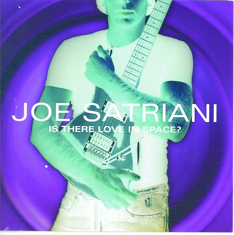 Cover di Is There Love In Space?, Joe Satriani