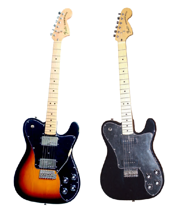 Fender Classic Player Tele Deluxe Tremolo e Deluxe Black Dove