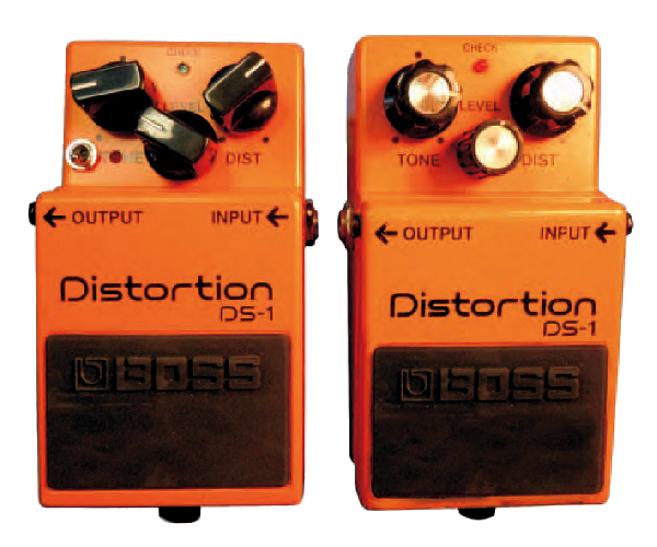 Keeley Boss DS-1 Ultra Mod vs DS-1 di serie