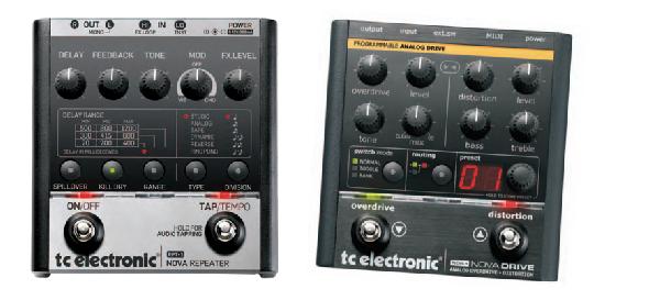TC Electronic RPT-1 NOVA Repeater e NDR-1 Nova Drive