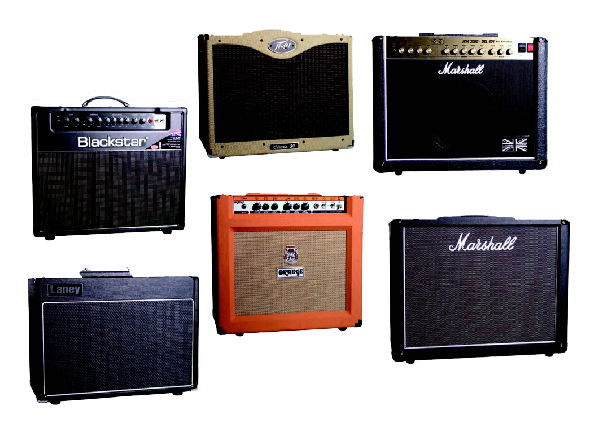 Blackstar HT Club 40 - Laney VC30-112 - Marshall Haze40 e JCM2000 DSL401 - Orange Thunder TH30 - Pea